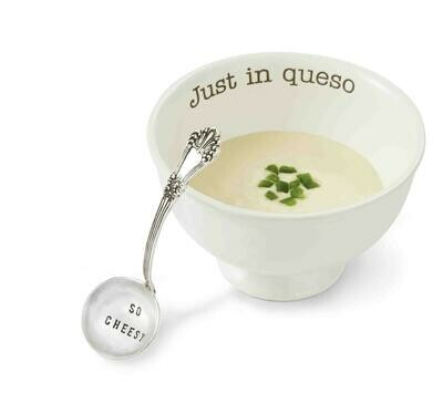 Just In Queso Dish Set