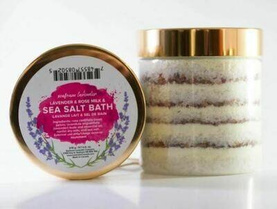 Lavender and Rose Bath Salt  276g
