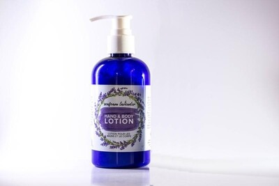 Lavender Hand Body Lotion Lge