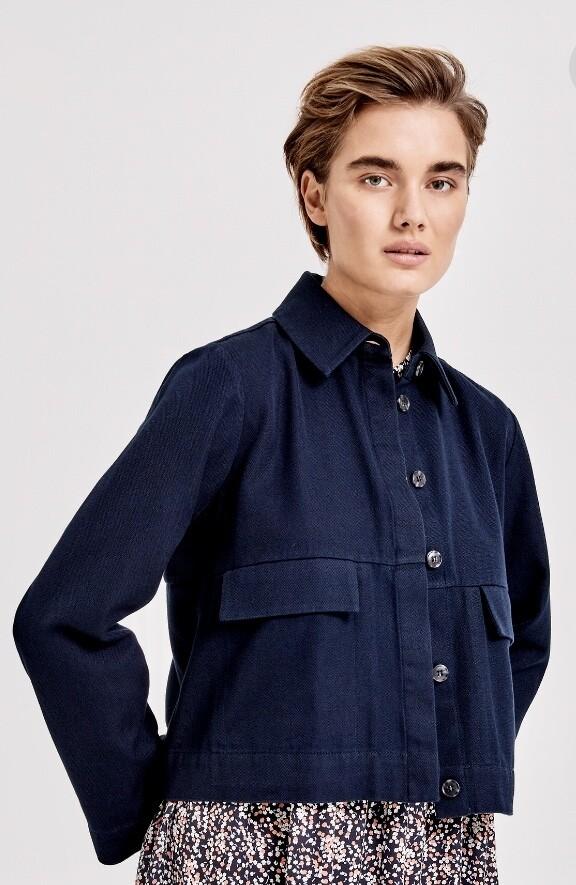 veste courte coton OPUS