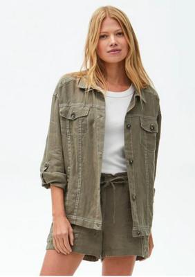 Maliah Linen Jacket