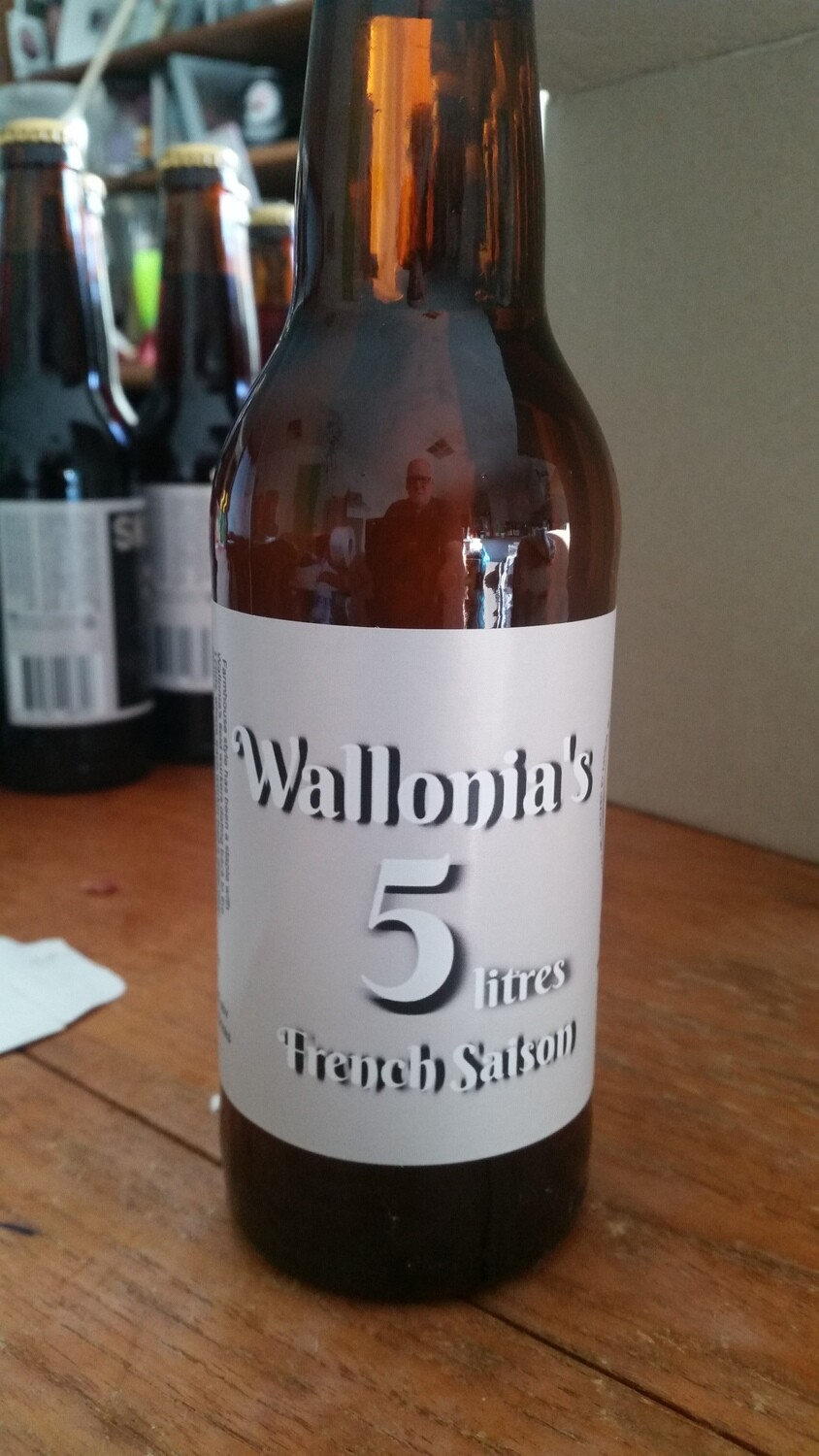 Wallonia's 5lt French Saison  6 x 330ml bottles