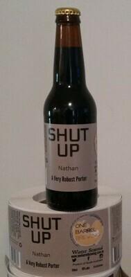 SHUT UP Nathan 6 x 330ml bottles