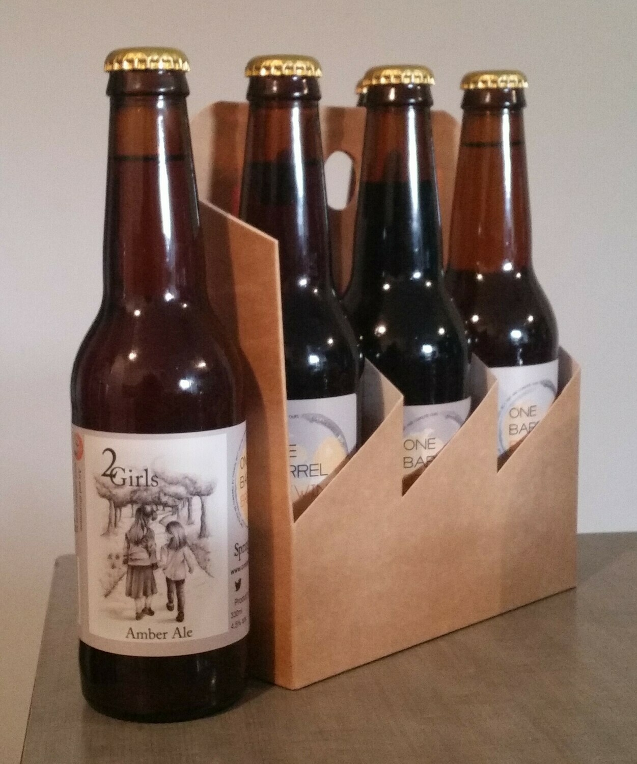 ''2Girls''  Amber Ale   6 x 330ml bottles