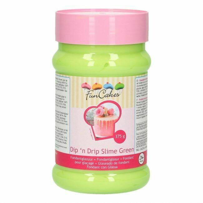 FunCakes Dip 'n Drip Slime Green 375g MHD Rabatt