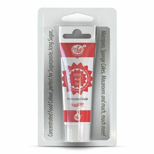 RD ProGel® Concentrated Colour Red Blisterpack