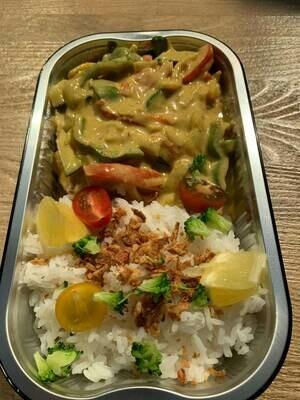 Viscurry met rijst 500 gram