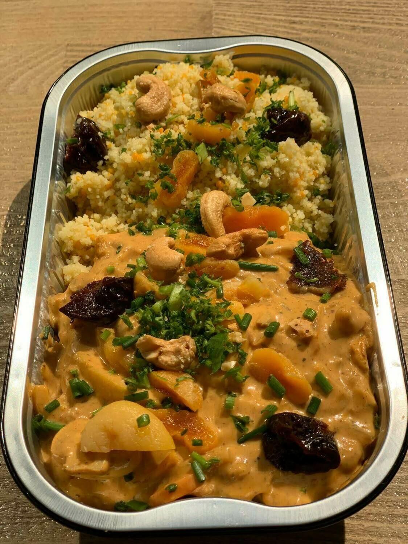 Marokaanse kip met couscous 500 gram