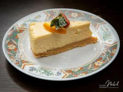 New York Baked Cheese Cake (GF)
