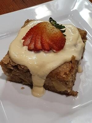 Apple and Rhubarb Spice Cake (VO)
