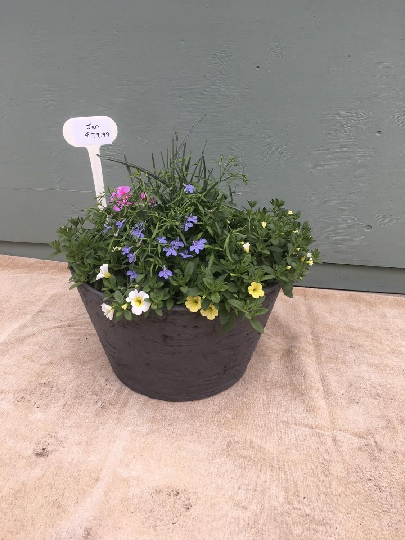 "18"" Grey Planter Pot"