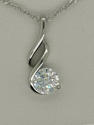 Legend Drop Diamond-Like Pendant