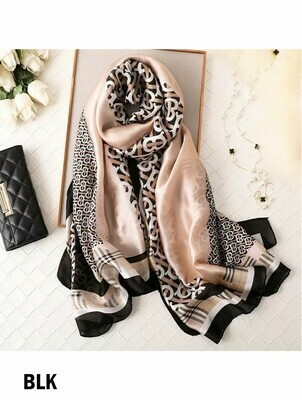 604-20-1240 SF1687 Burberry Inspired Scarf