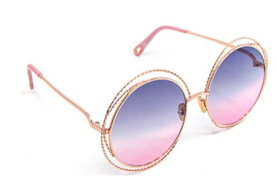 Chic Round Retro Sunglasses 620-12-430  8167