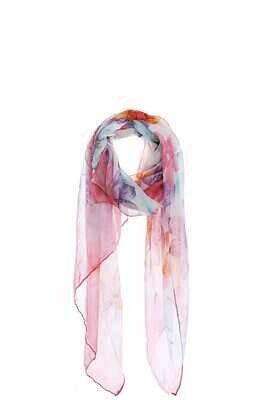 Light and Airy Chiffon Scarf