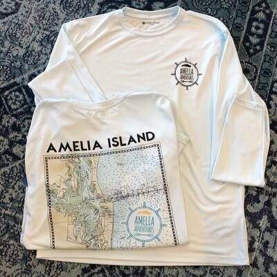 Unisex Amelia Island Lat/Long UPF 50 Solar Shirt