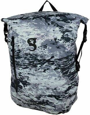 geckobrands Waterproof Lightweight Backpack Endeavor 30L-Arctic geckoflage