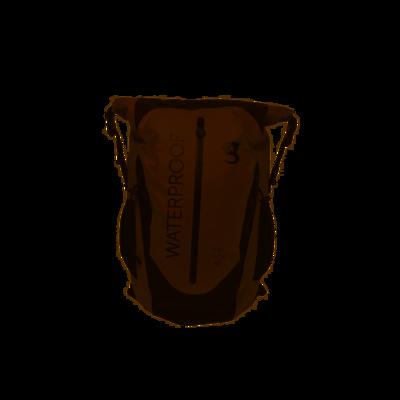 geckobrands Waterproof Paddler Backpack 45 L Grey