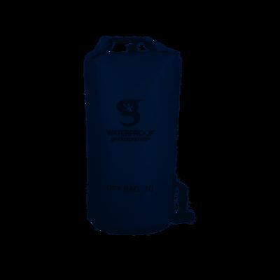 geckobrands Waterproof Tarpaulin Dry Bag 10 L Grey
