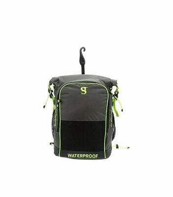 geckobrands Waterproof Dueler All Sports Backpack 32L Grey/Bright Green