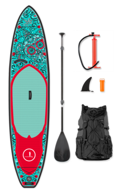 12' DAY OF THE DEAD INFLATABLE SUP | FREE PADDLE | FREE SHIPPING
