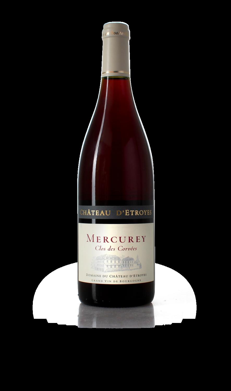 Château d'Etroyes Mercurey rouge Clos des Corvées 2018