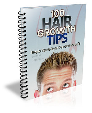 Ebook - 100 Hair Growth Tips for you who's losing hair
