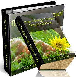 Ebook - The allergy relief sourcebook