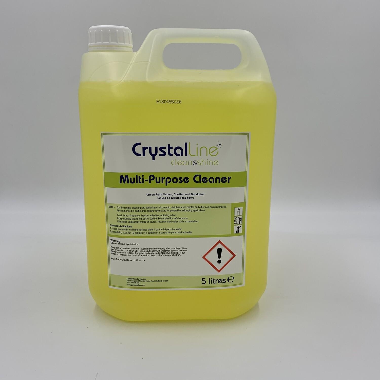 CrystalLine Sanitiser and Deodoriser Cleaner