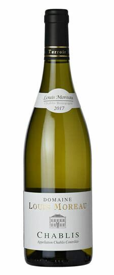 2017-Chablis-Domaine Louis Moreau, Chardonnay