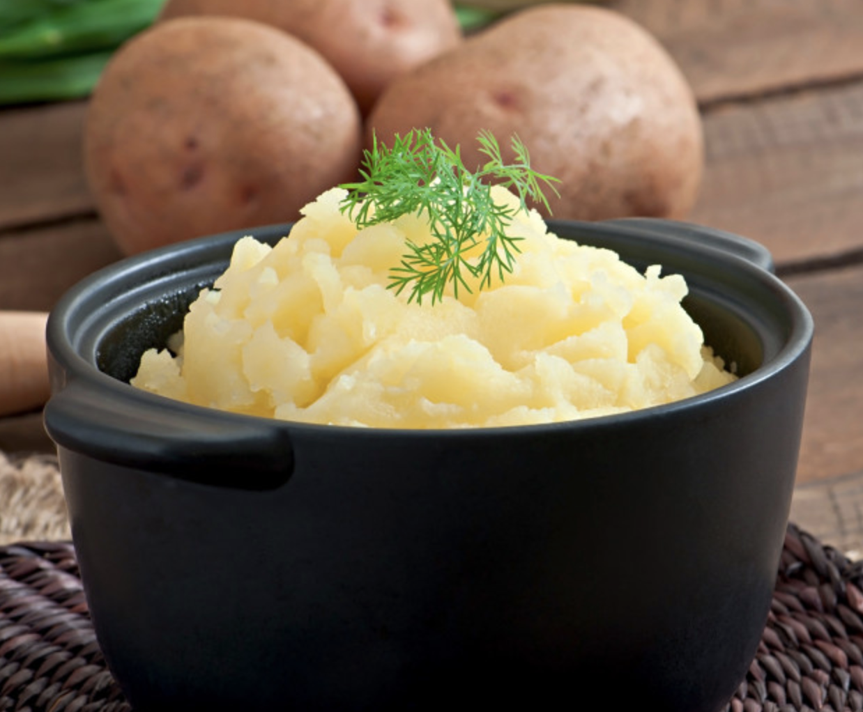 Mash Potatoes (L)