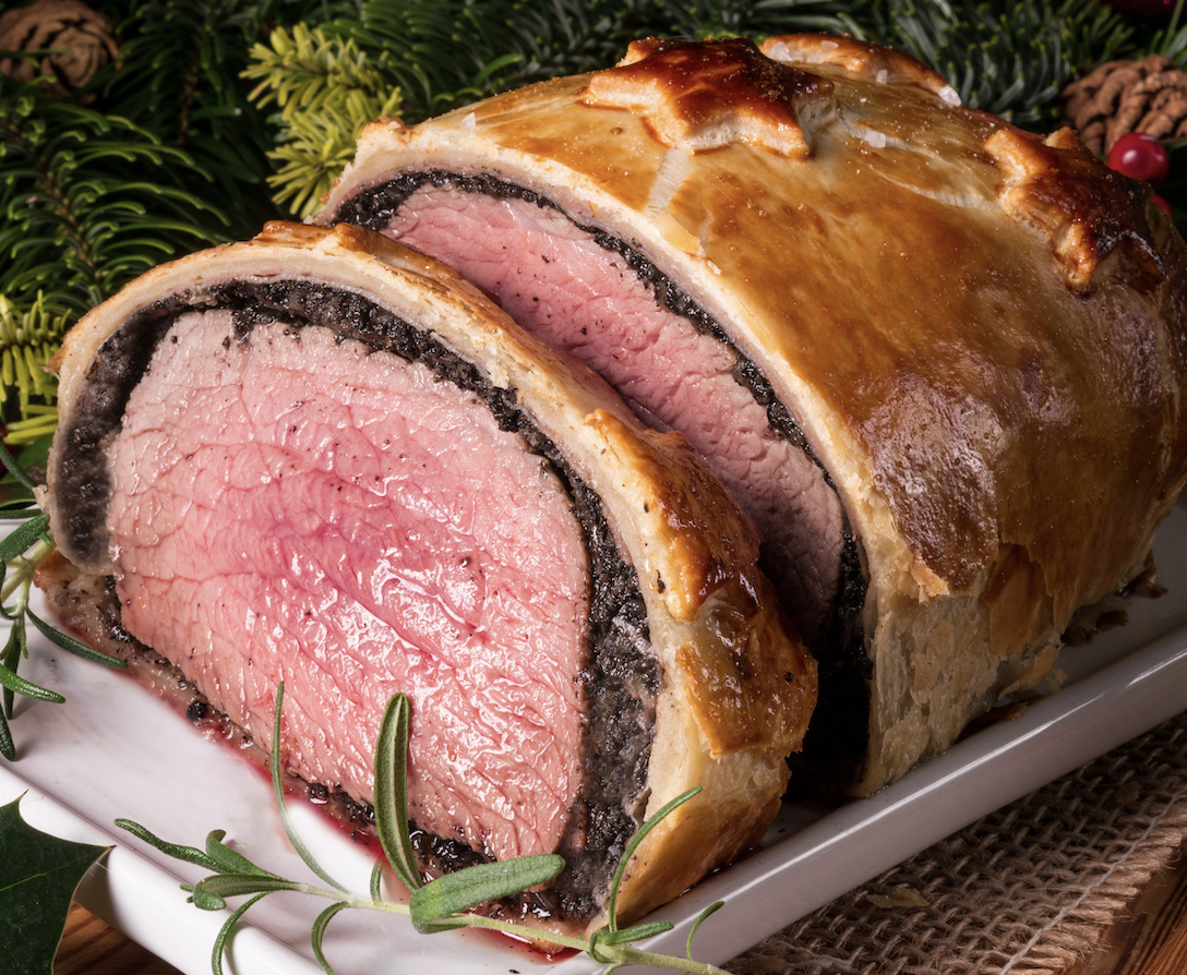 Mother's Day Beef Wellington for 4 persons