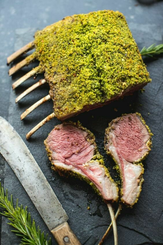 Lamb Rack for 4 persons