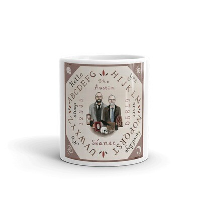 Albert and Jake Talking Board Coffee Mug