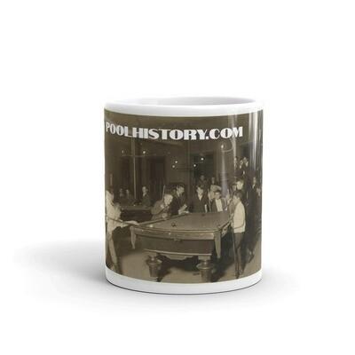 PoolHistory News Boys Mug