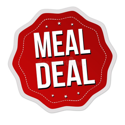 Meal Deal - 2 Mains And 1 Bottle Of Wine