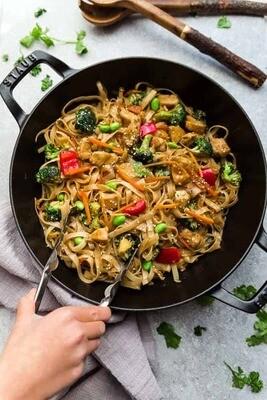 Oriental Chicken Wok