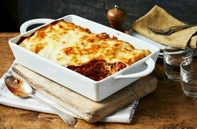 Traditional Beef Lasagne & Fries