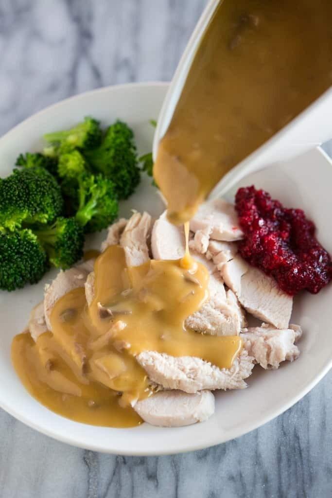 Kids Turkey Dinner