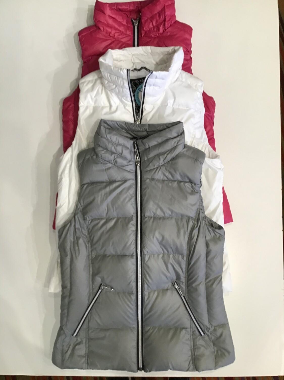 Short puffer vest