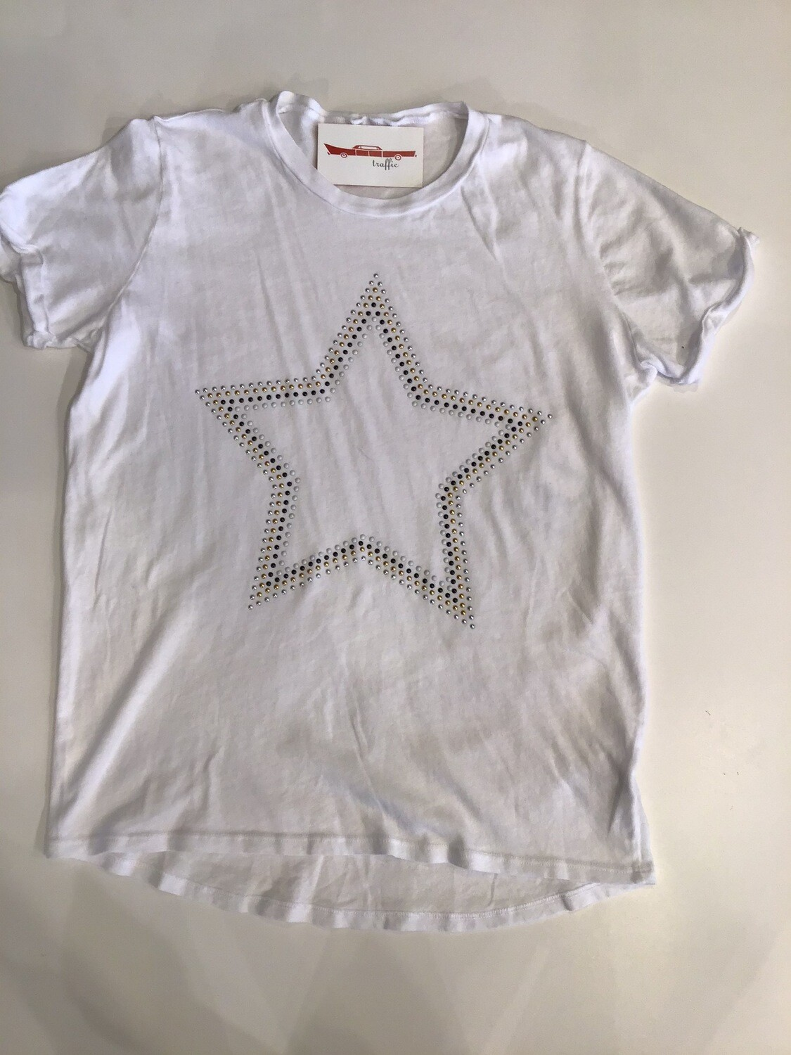 Star Studded s/s Cuffed Tee