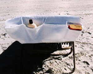 Lounge Chair Towel with bonus Mesh Bag