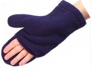 Finger-Free Fleece Mittens