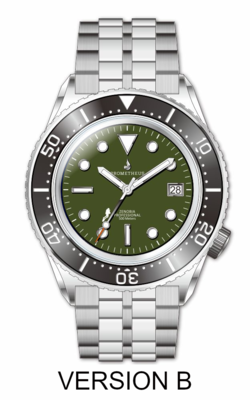 Prometheus Zenobia Green Dial Date Version B