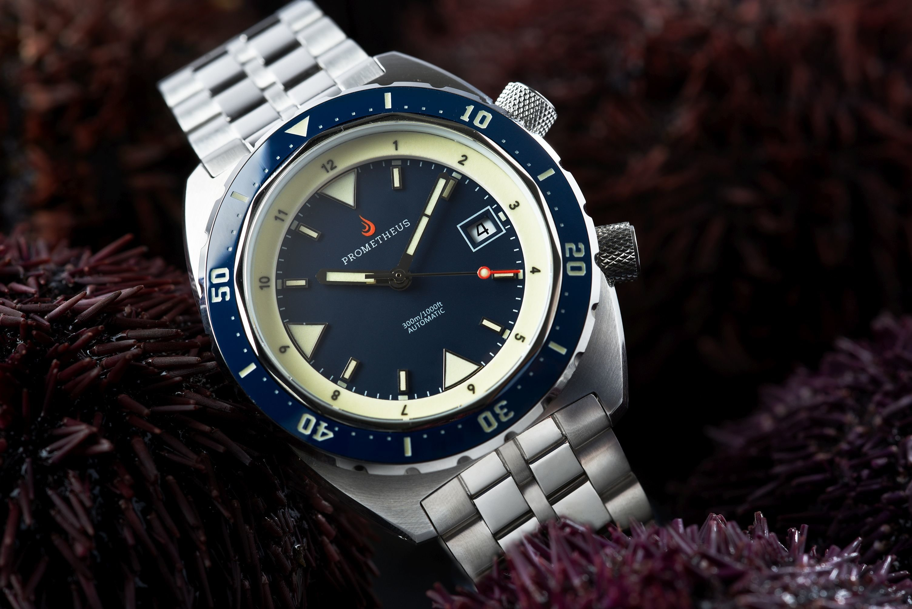 Pre-Order Prometheus Eagle Ray Version 5B ETA 2824 Blue Dial Date C3X1 Superluminova