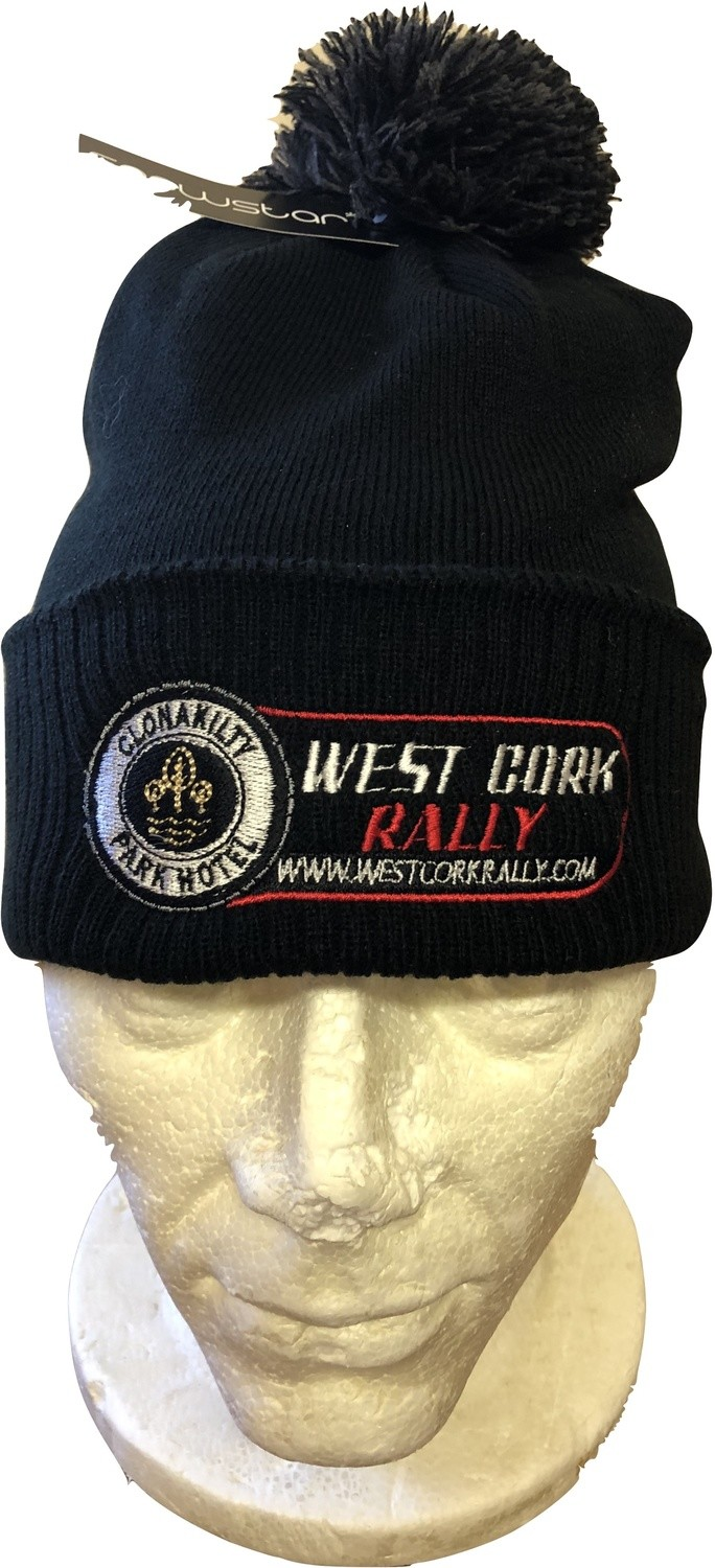 West Cork International Rally Bobble hat