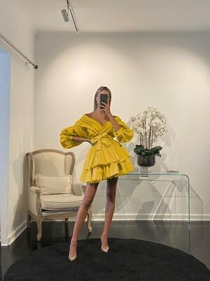 Chloe Dress Yellow