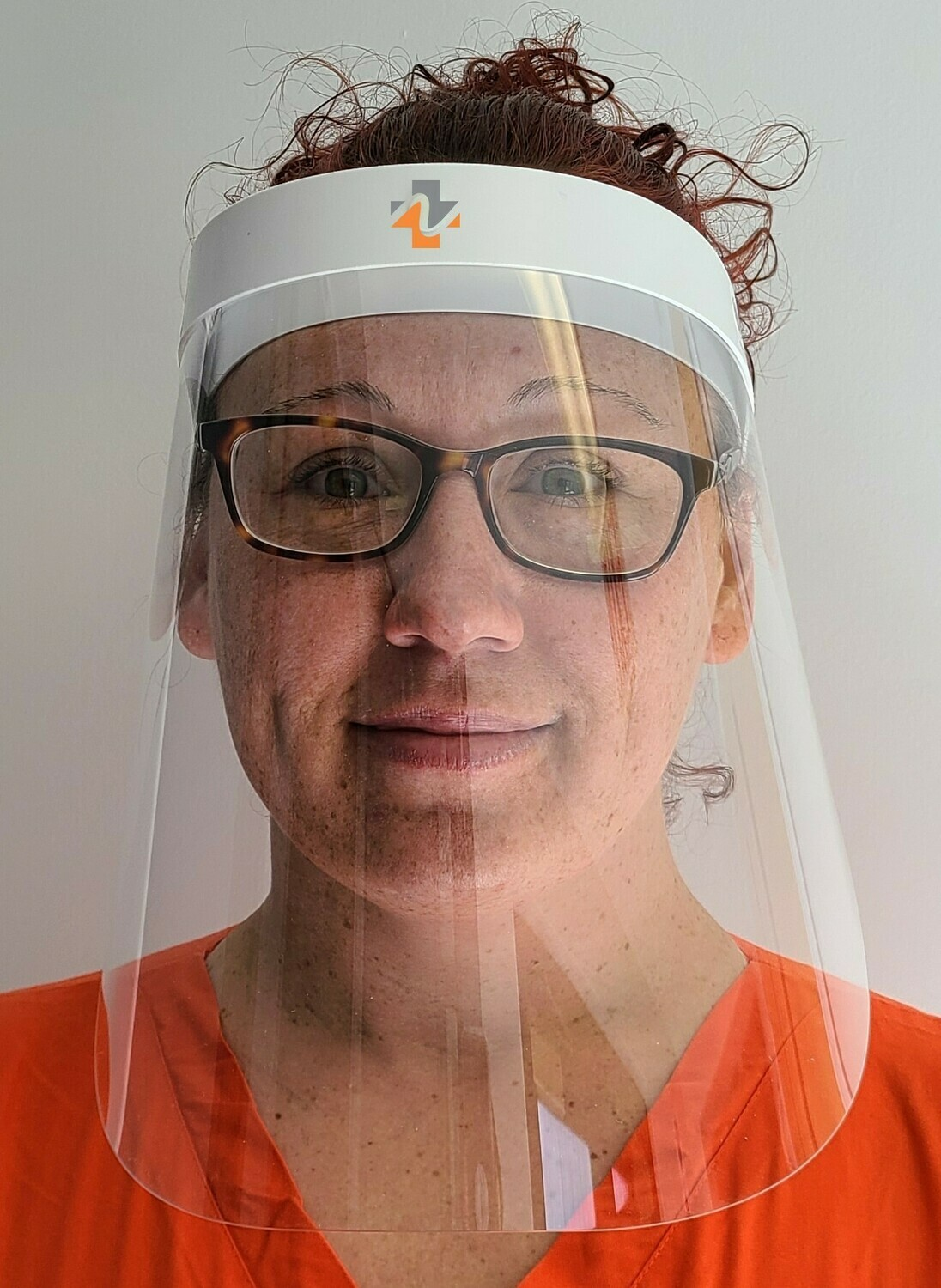 Reusable Face Shield with reinforced headband - Pack of 50