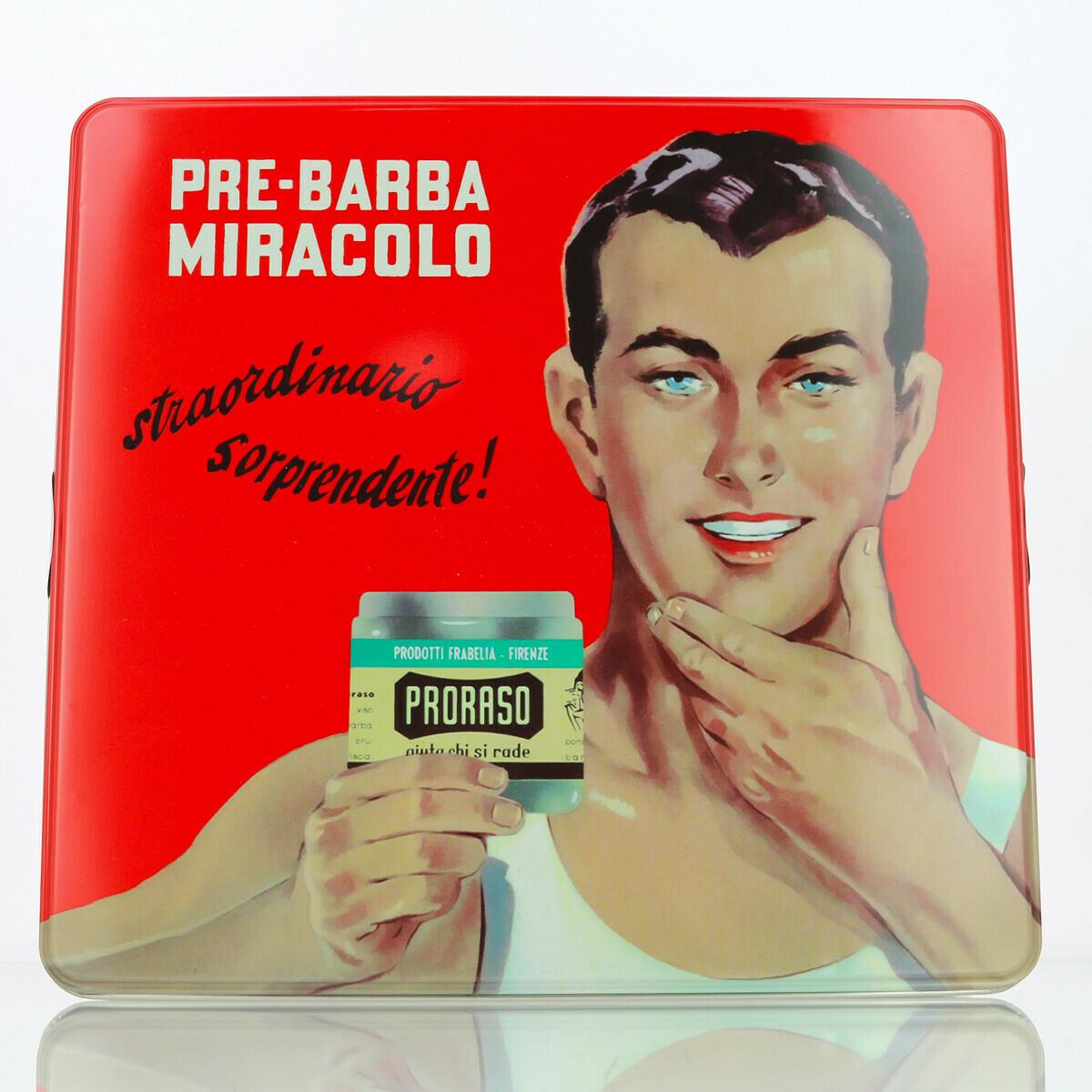 Coffret rasage vintage Toccasana - Differents coffret disponible celon le type de peau  Proraso