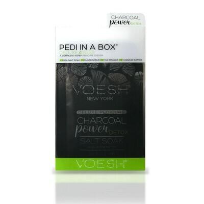 Soin des pieds et demi-jambes 4 étapes - 3 box disponibles : charbon, jasmin, vitamine C .  Perron Rigot